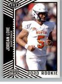 2020 SAGE HIT Premier Draft (NFL) #12 Jordan Love Utah State Aggies  Pre-Rookie RC Official Player Licensed Football Trading Card