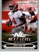 2020 SAGE HIT Premier Draft (NFL) #48 Jerry Jeud Alabama Crimson Tide  Pre-Rookie RC Official Player Licensed Football Trading Card