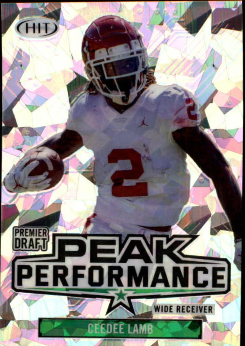 2020 SAGE HIT Premier Draft Peak Performance Cracked Ice