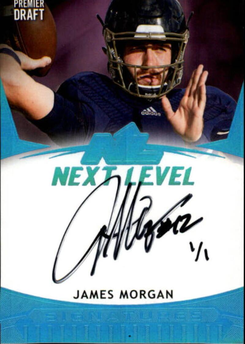2020 SAGE HIT Premier Draft Autographs Blue Ice
