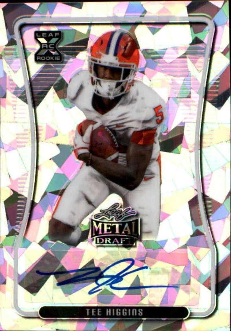 2020 Leaf Metal Draft Autographs Crystal Silver