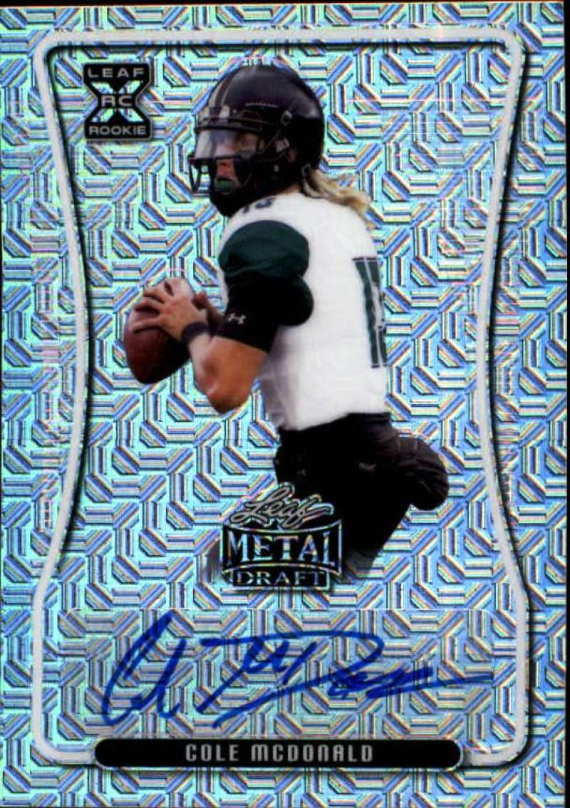 2020 Leaf Metal Draft Autographs Mojo Silver