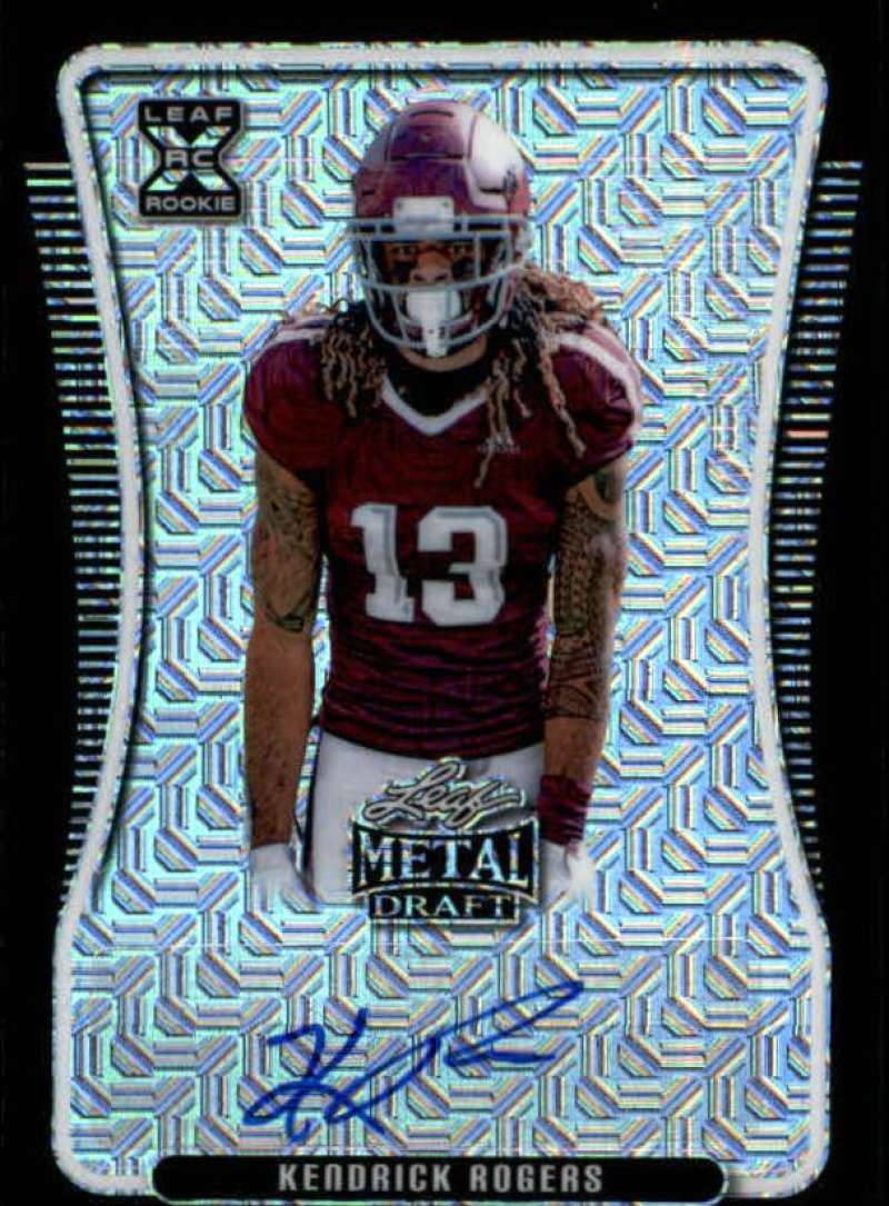 2020 Leaf Metal Draft Autographs Mojo Black