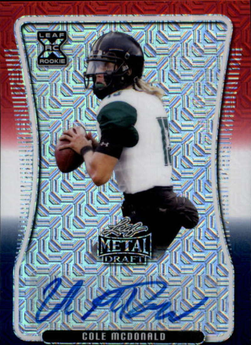 2020 Leaf Metal Draft Autographs Mojo RWB Exclusive
