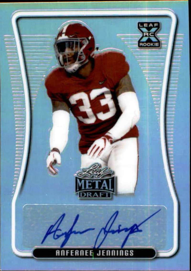 2020 Leaf Metal Draft Autographs Rainbow Silver