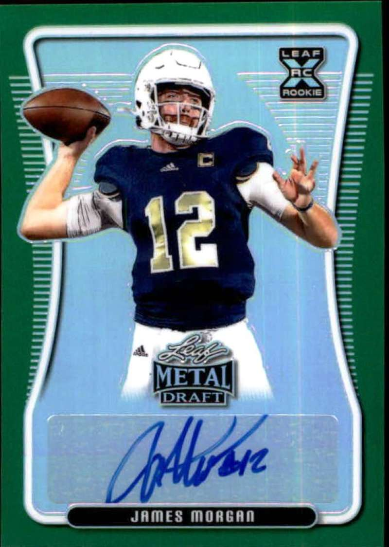 2020 Leaf Metal Draft Autographs Rainbow Green
