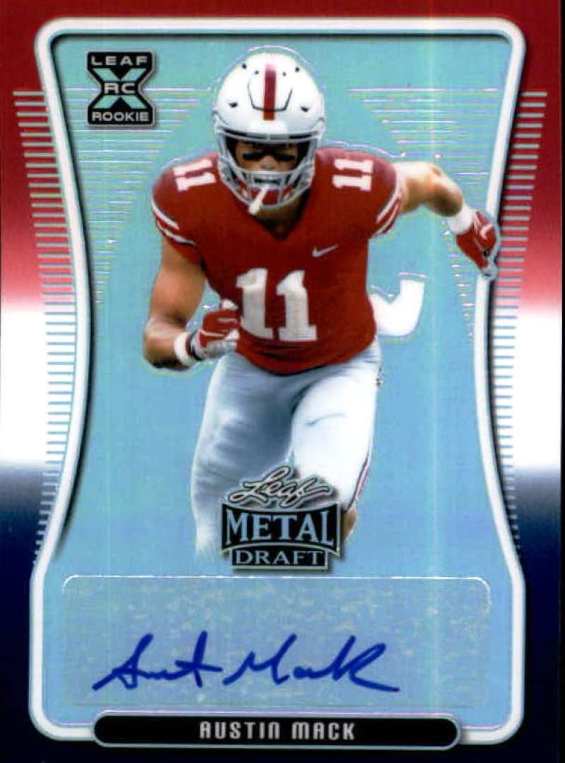 2020 Leaf Metal Draft Autographs Rainbow RWB Exclusive