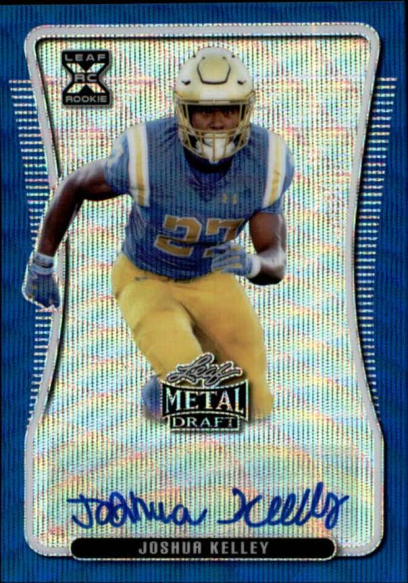 2020 Leaf Metal Draft Autographs Wave Blue