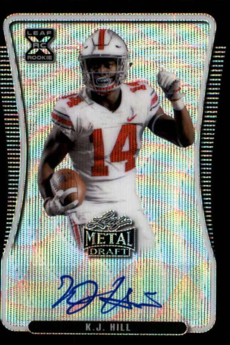 2020 Leaf Metal Draft Autographs Wave Black