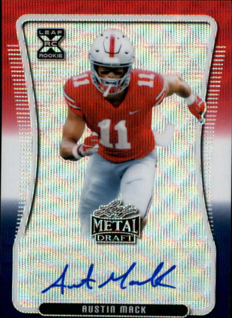 2020 Leaf Metal Draft Autographs Wave RWB Exclusive