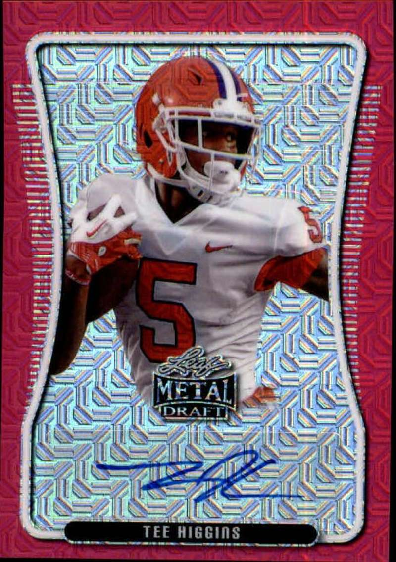 2020 Leaf Metal Draft Portrait Autographs Mojo Pink