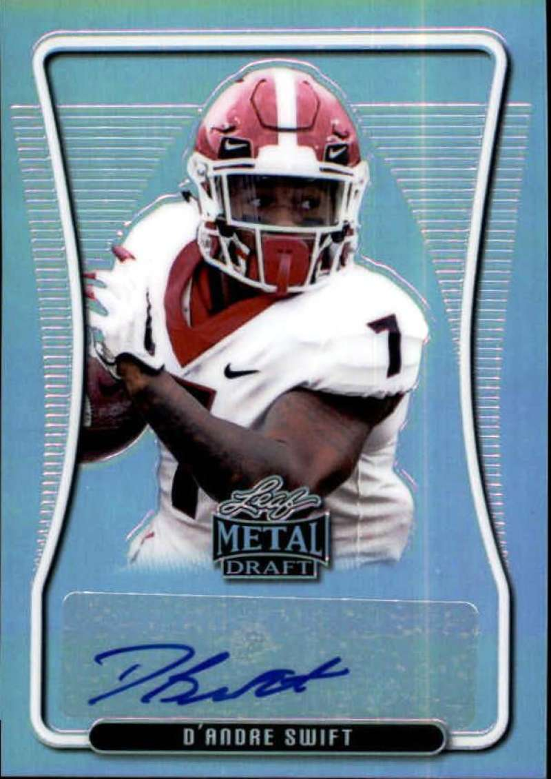 2020 Leaf Metal Draft Portrait Autographs Rainbow Silver