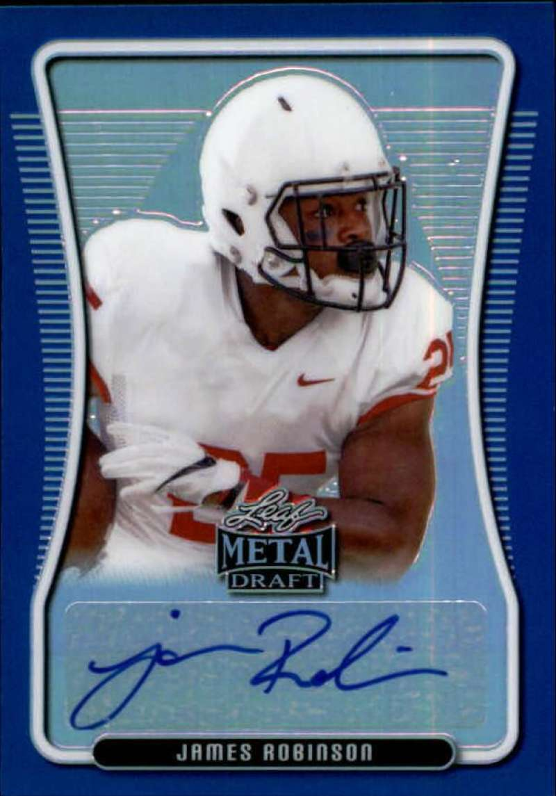 2020 Leaf Metal Draft Portrait Autographs Rainbow Blue