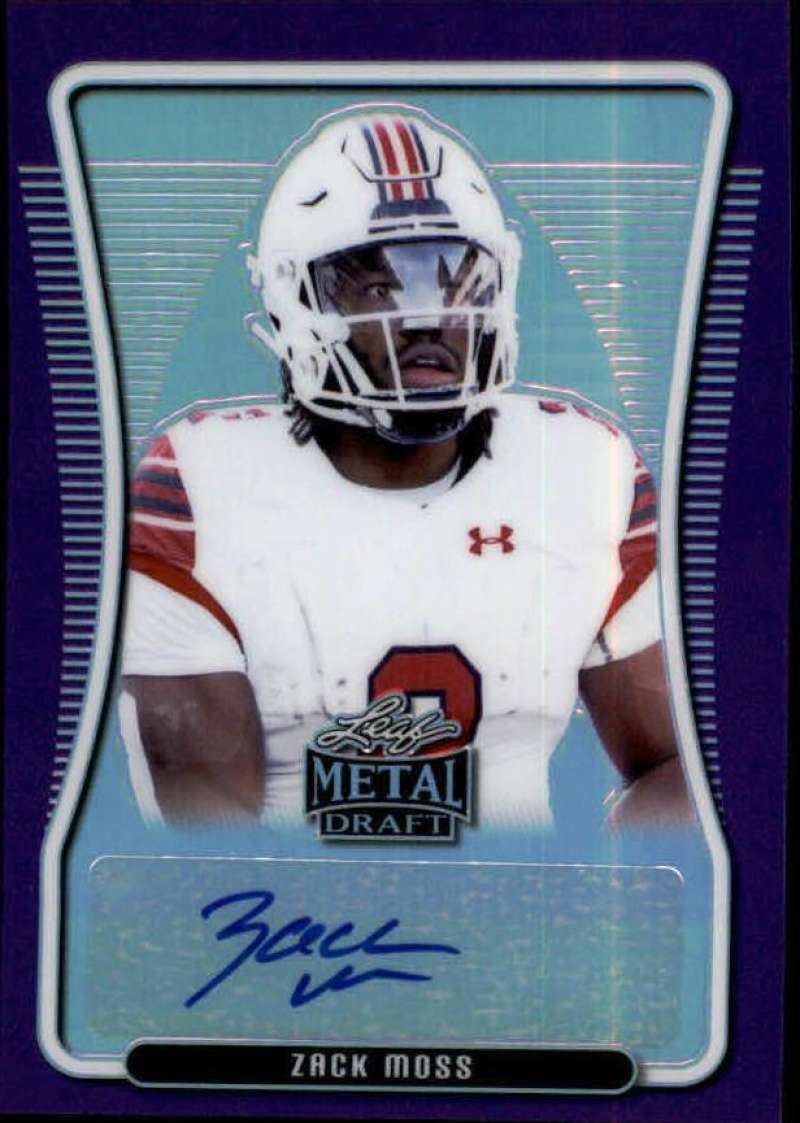 2020 Leaf Metal Draft Portrait Autographs Rainbow Purple