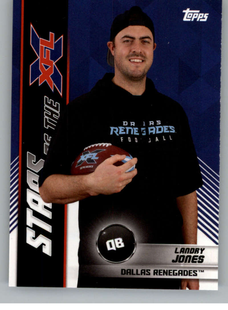 2020 Topps XFL Stars of the NFL