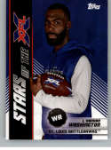 2020 Topps XFL Stars of the XFL #15 L'Damian Washington St. Louis BattleHawks  Official Football Trading Card