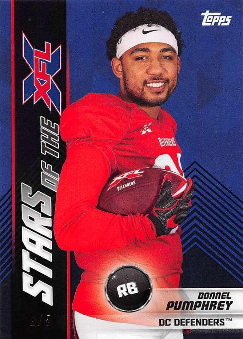 2020 Topps XFL Stars of the NFL Black