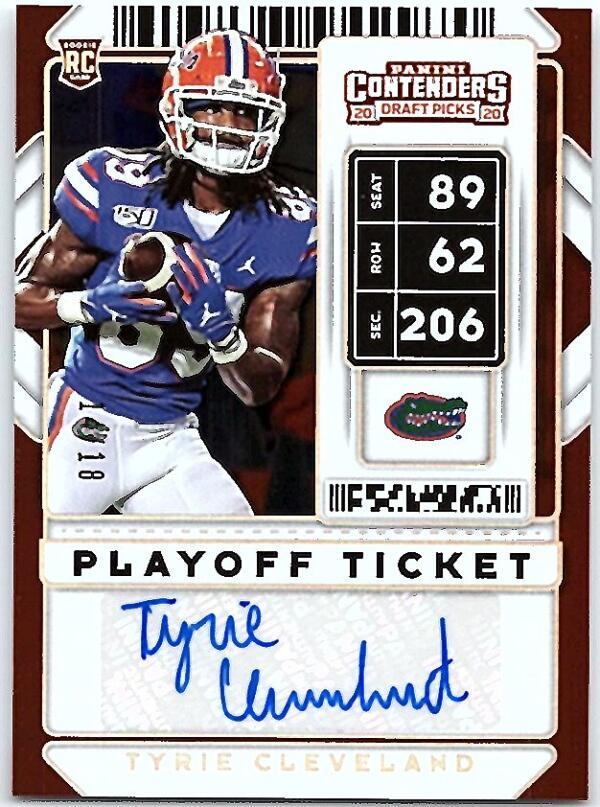 2020 Panini Contenders Draft College Playoff Ticket