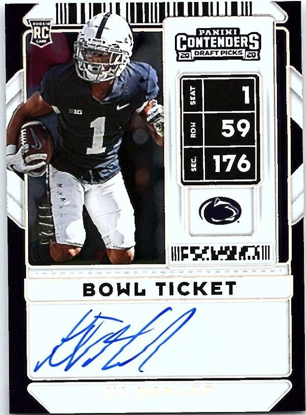 2020 Panini Contenders Draft RPS College Bowl Ticket
