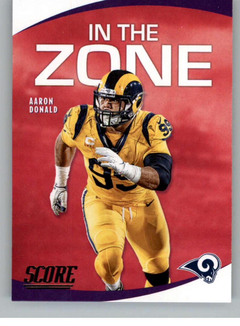 2020 Score  In the Zone