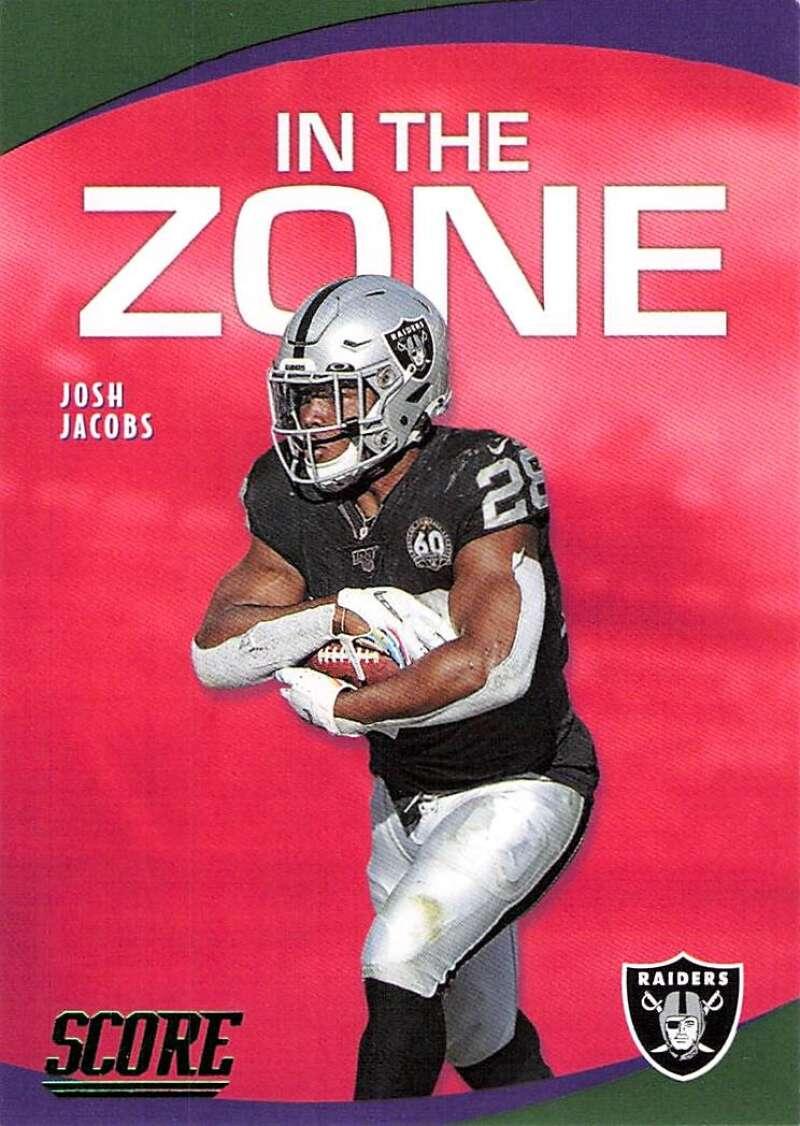 2020 Score  In the Zone Green
