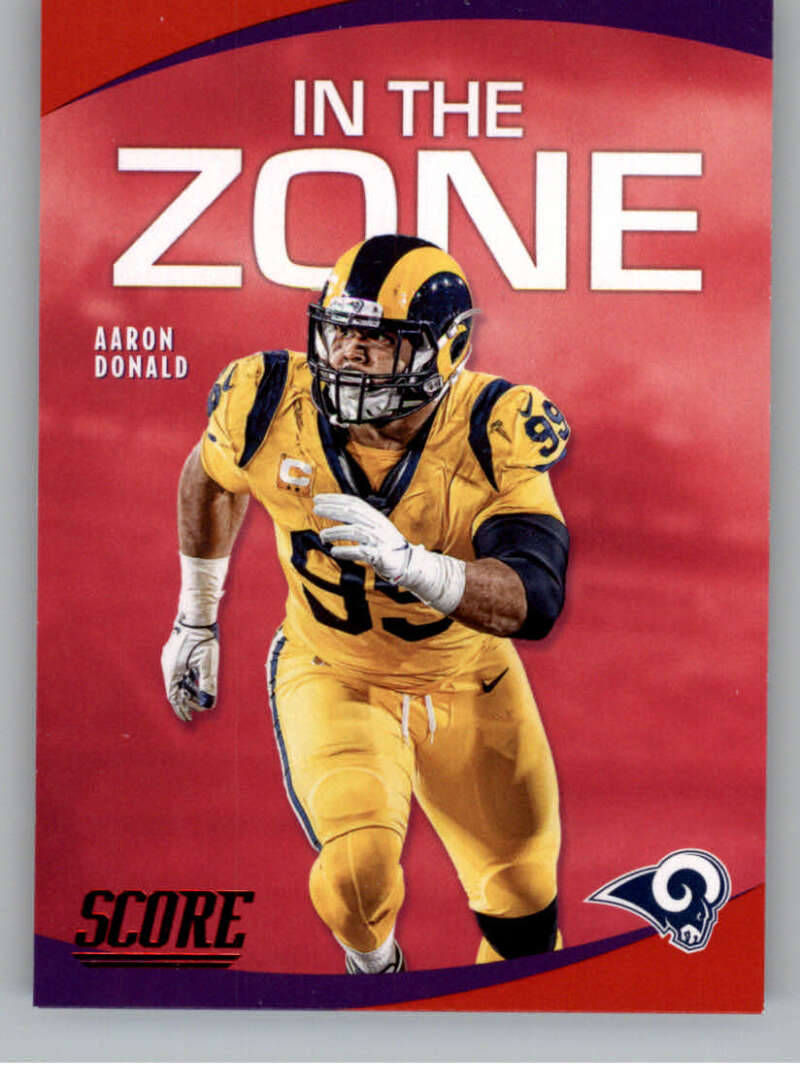 2020 Score  In the Zone Red