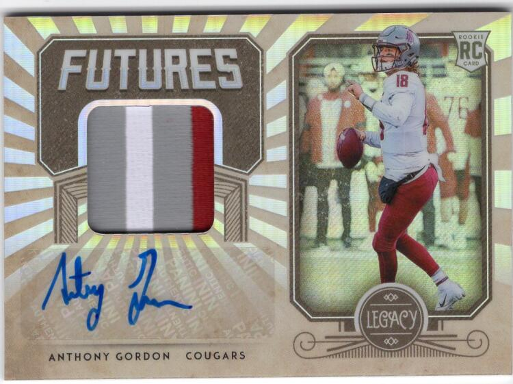 2020 Panini Legacy Futures Patch Autographs Silver