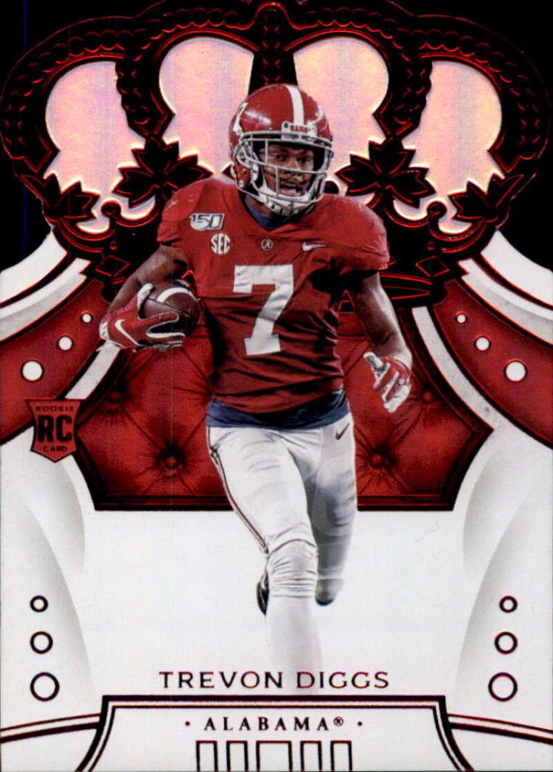 2020 Panini Chronicles Draft Picks Crown Royale Draft Picks Red