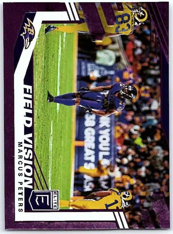 2020 Donruss Elite Field Vision Purple