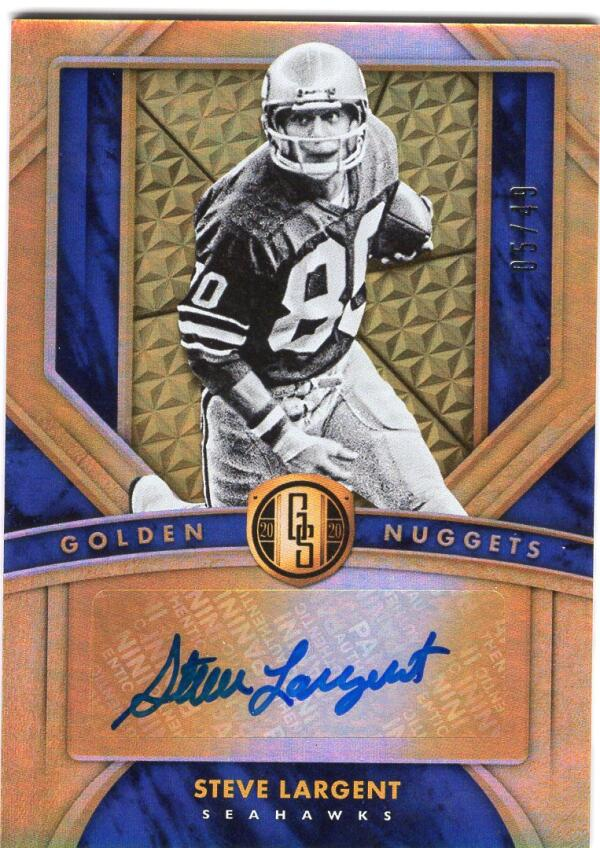 2020 Panini Gold Standard Golden Nuggets