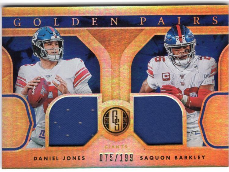 2020 Panini Gold Standard Golden Pairs