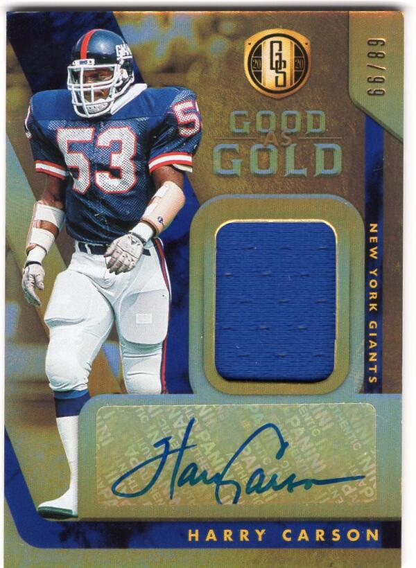 2020 Panini Gold Standard Good as Gold