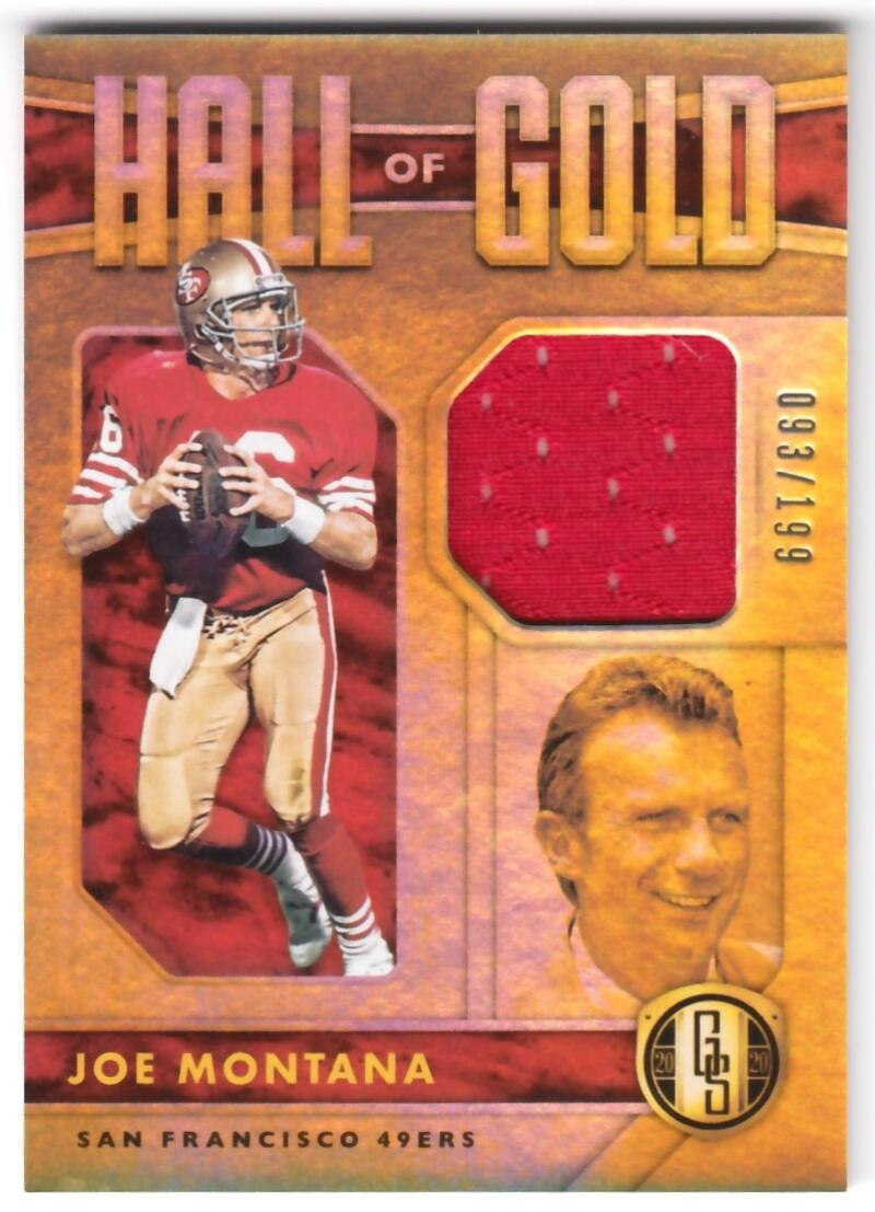 2020 Panini Gold Standard Hall of Gold Threads