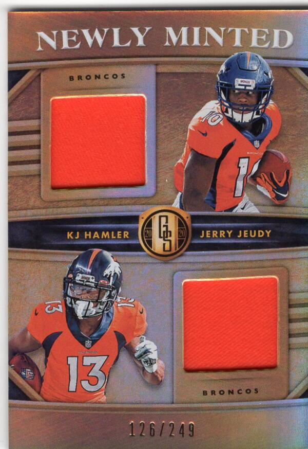 2020 Panini Gold Standard Newly Minted Memorabilia Duals