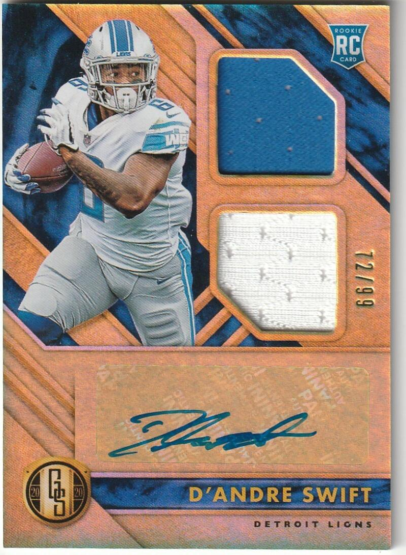 2020 Panini Gold Standard Rookie Jersey Autographs Double