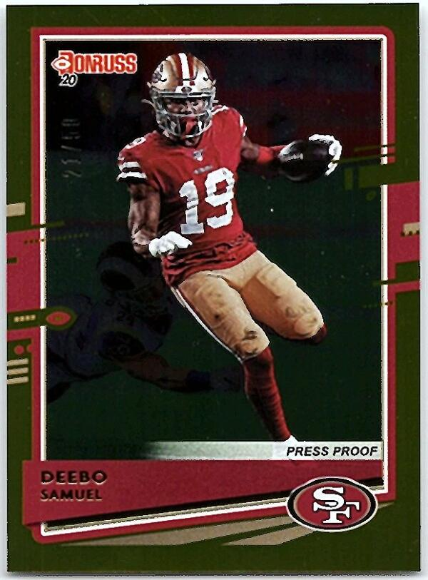 2020 Donruss  Press Proof Gold