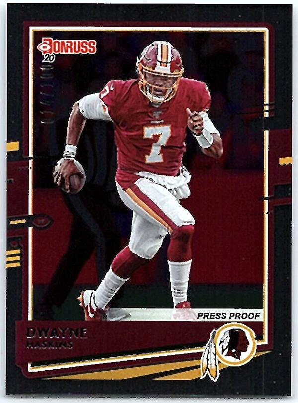 2020 Donruss  Press Proof Silver