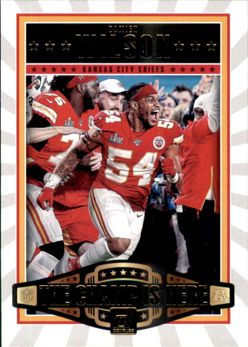 2020 Donruss  Champ is Here