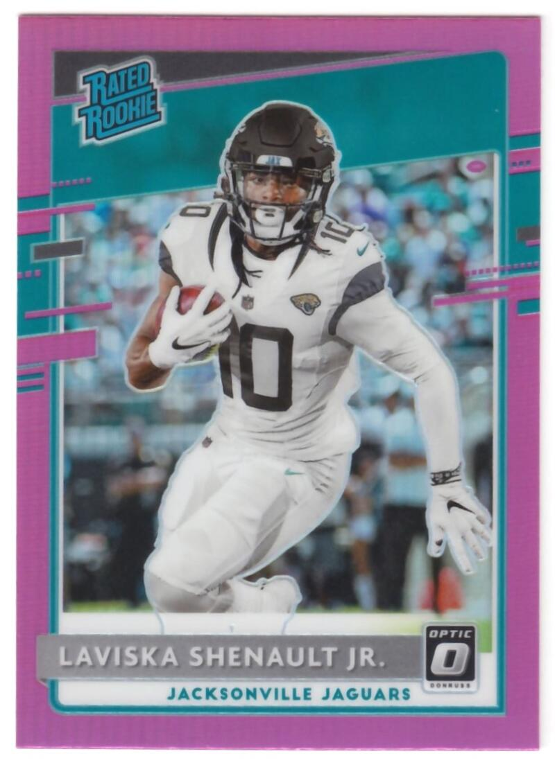 2020 Donruss  Optic Rated Rookie Preview Pink