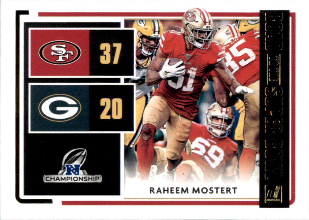 2020 Donruss  Road to the Super Bowl Conference Championship