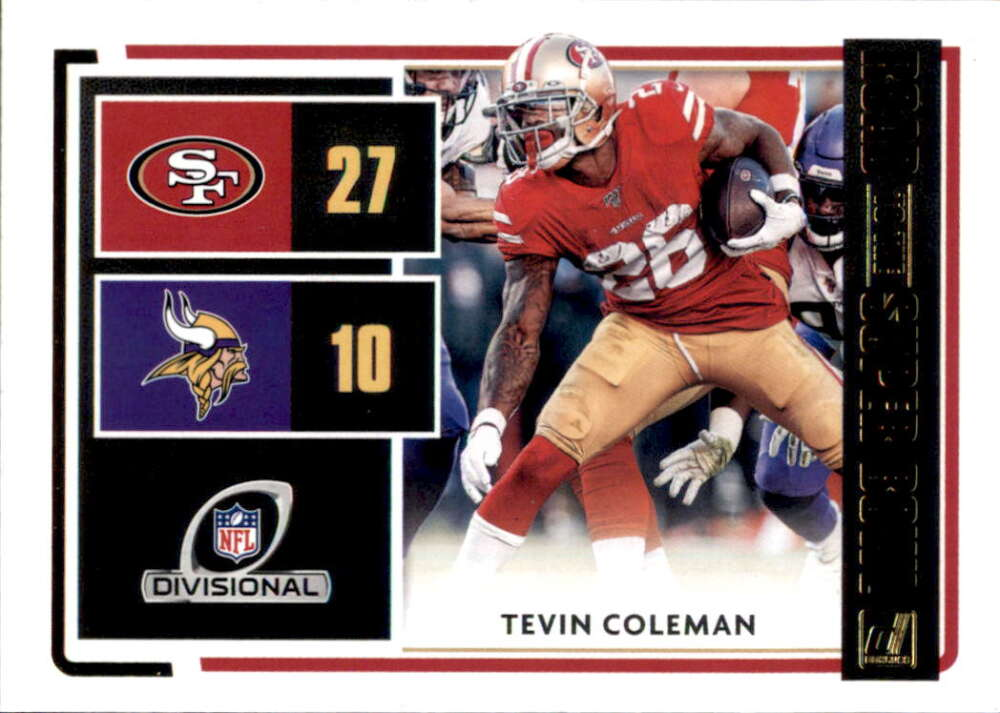 2020 Donruss  Road to the Super Bowl Divisional Round