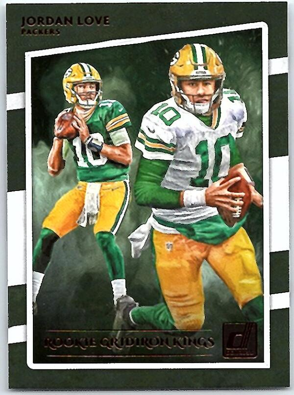 2020 Donruss  Rookie Gridiron Kings