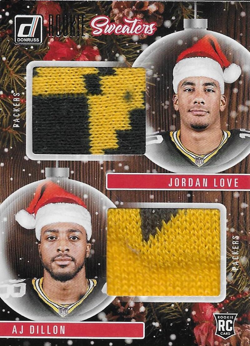 2020 Donruss  Rookie Holiday Sweater Dual