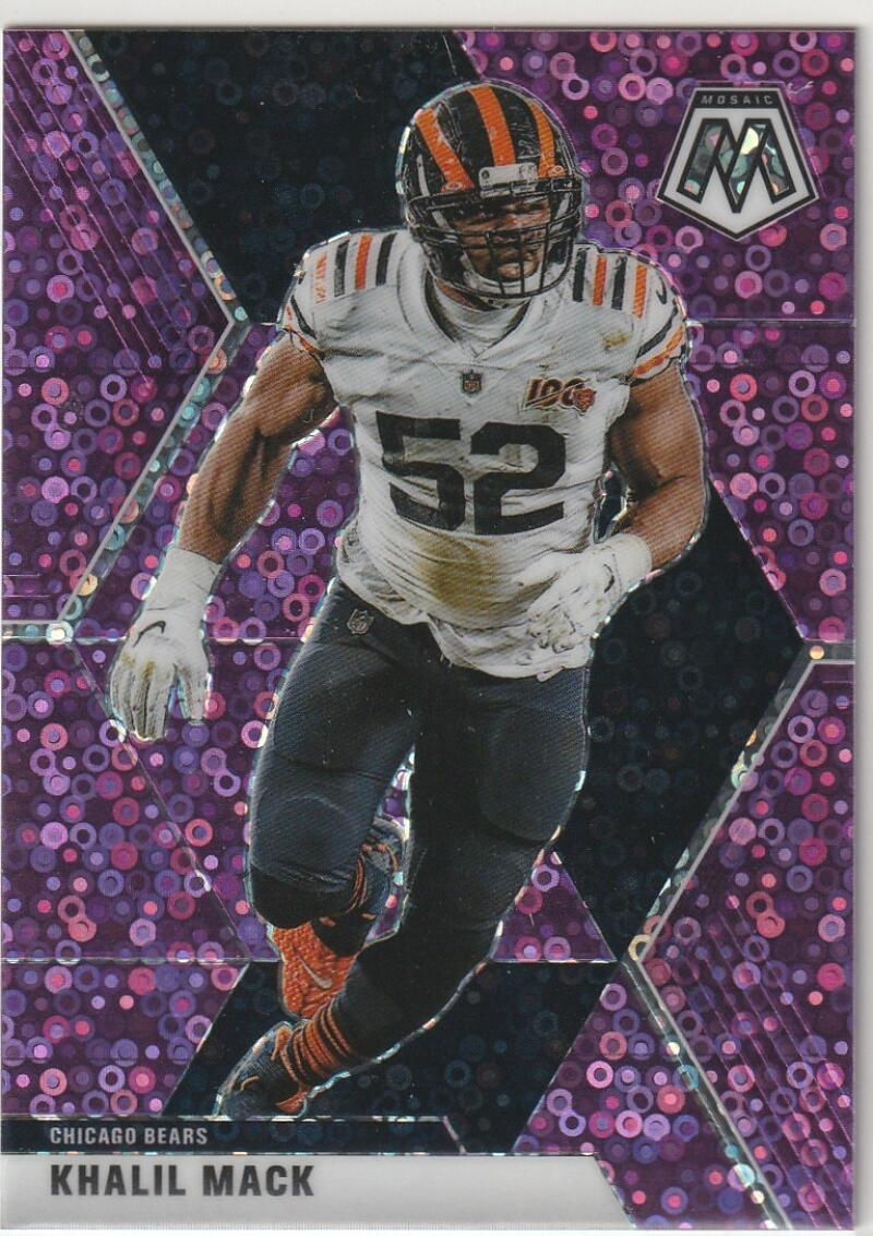 2020 Panini Mosaic Mosaic No Huddle Purple