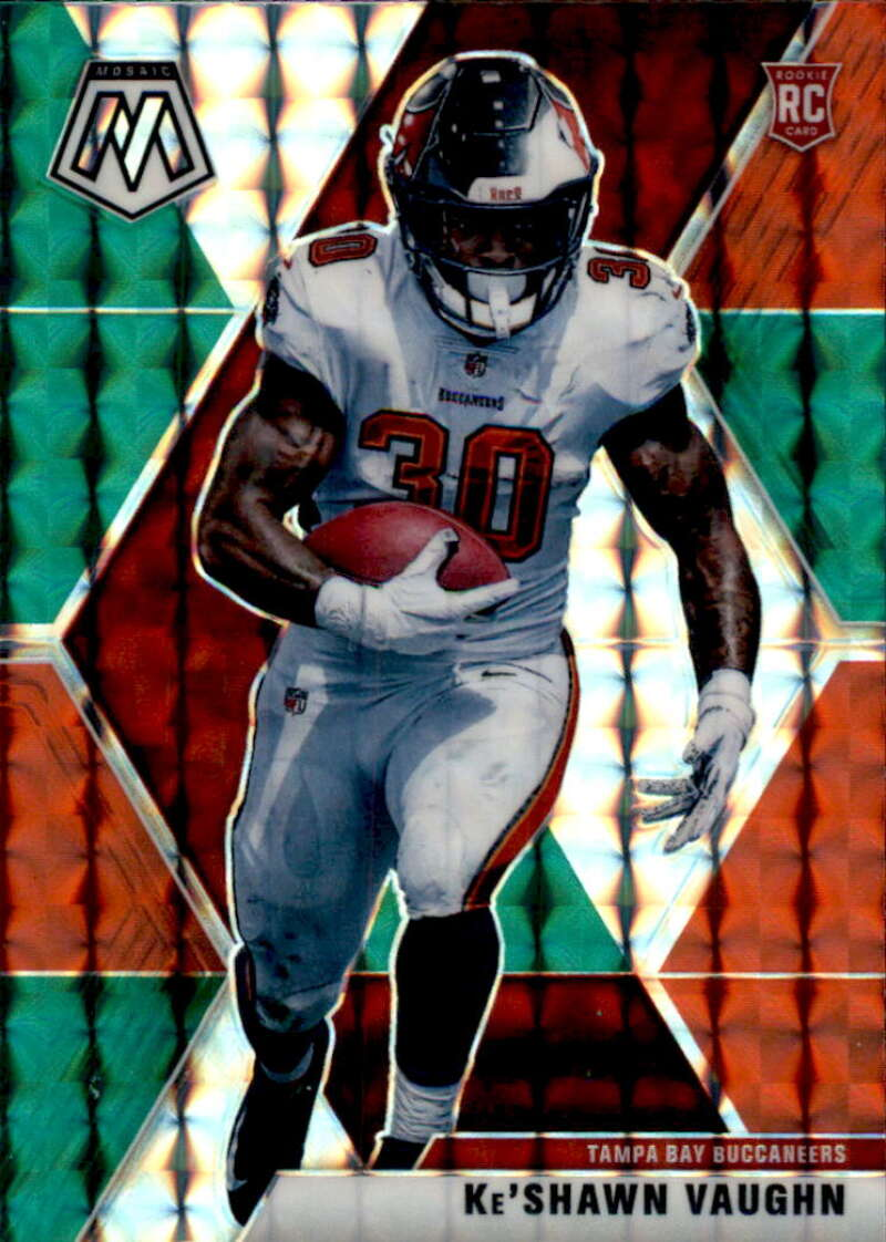 2020 Panini Mosaic Mosaic Choice Red and Green