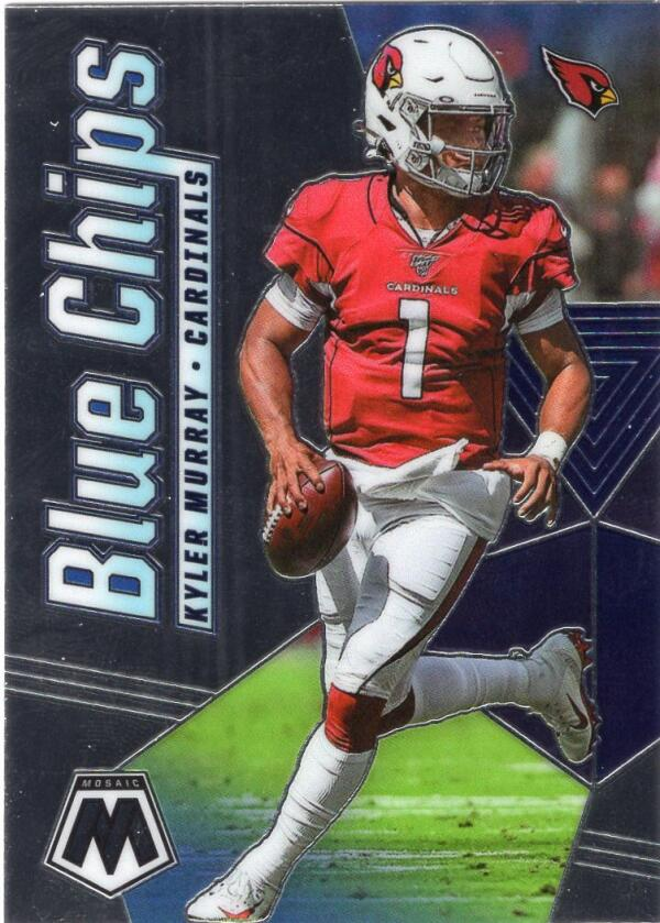 2020 Panini Mosaic Blue Chips
