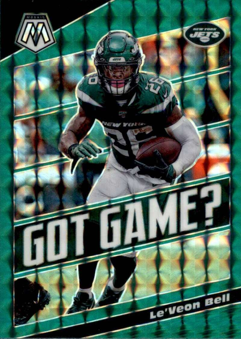2020 Panini Mosaic Got Game Mosaic Green