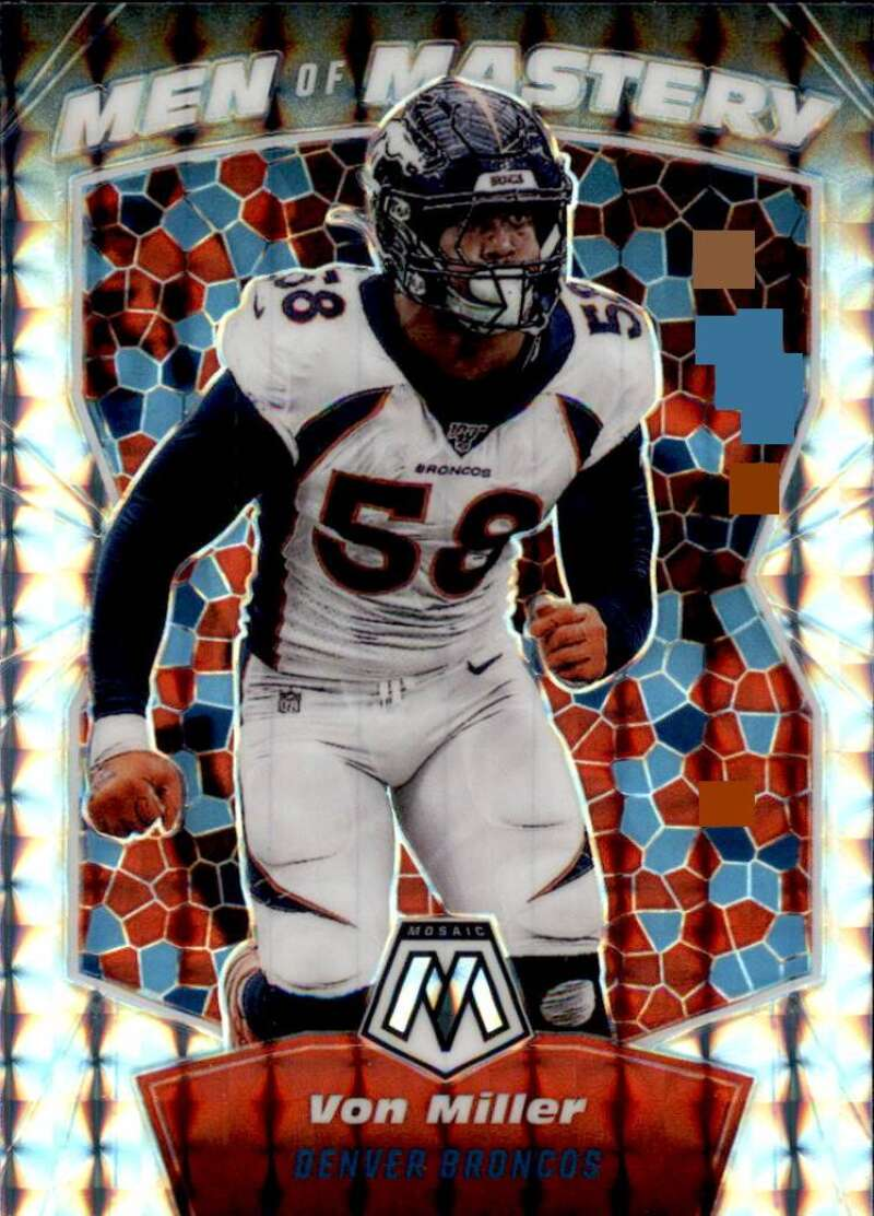 2020 Panini Mosaic Men of Mastery Mosaic