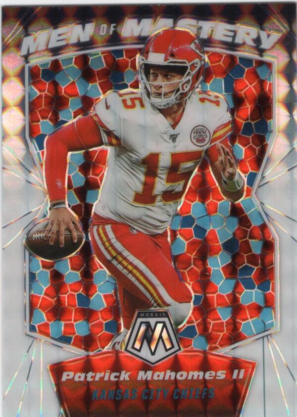 2020 Panini Mosaic Men of Mastery Mosaic White
