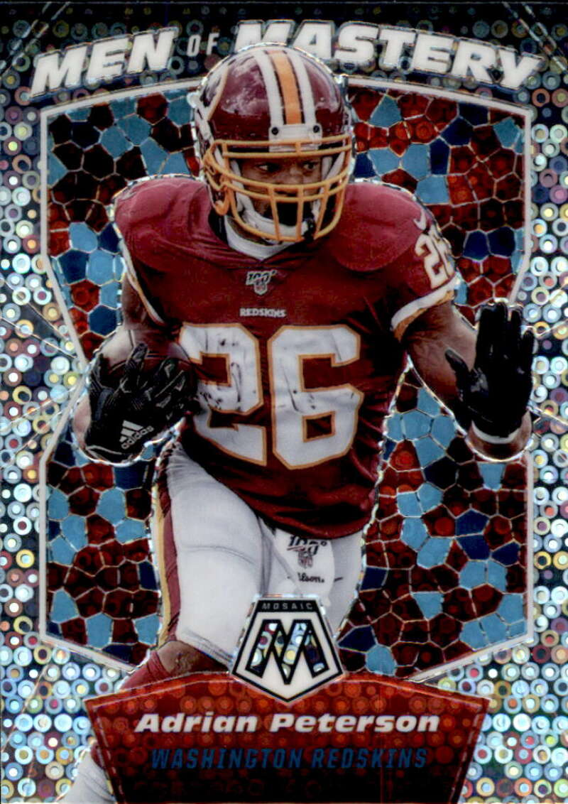 2020 Panini Mosaic Men of Mastery No Huddle Silver